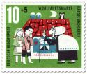 Stamp: Hänsel und Gretel bei der Hexe