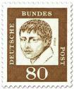 Stamp: Heinrich von Kleist (Dramatiker, Lyriker)