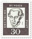 Stamp: Immanuel Kant (Philosoph)