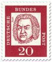 Stamp: Johann Sebastian Bach (Komponist)