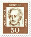 Stamp: Johann Wolfgang von Goethe (Dichter, Denker)