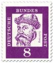 Stamp: Johannes Guttenberg (Erfinder des Buchdrucks)