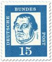 Stamp: Martin Luther (Theologe, Reformator)