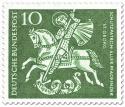 Stamp: St. Georg (Schutzparton der Pfadfinder)