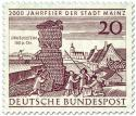 Stamp: Drususstein in Mainz (2000 Jahr Feier)
