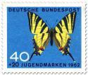 Stamp: Schmetterling Segelfalter (Iphiclides Podalirius)