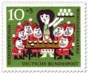 Stamp: Schneewittchen und die sieben Zwerge