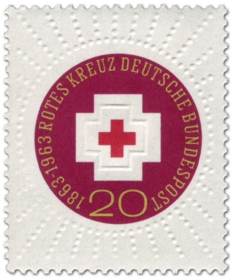 Stamp: 100 Jahre Internationales Rotes Kreuz