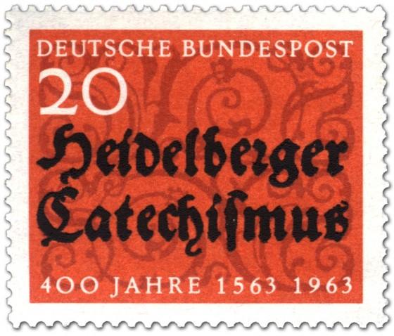 Stamp: 400 Jahre Heidelberger Katechismus