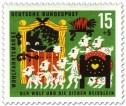 Stamp: Der Wolf und die sieben Geißlein