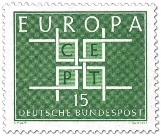 Stamp: Europamarke 1963 Cept 15