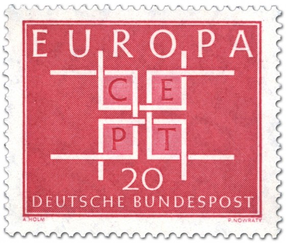 Stamp: Europamarke 1963 - Cept 20