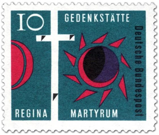 Stamp: Golgatha-Kreuz: Gedenkstätte Regina Martyrum