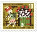 Stamp: Die sieben Geißlein winken der Ziegenmama