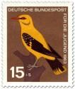 Stamp: Vogel: Pirol (Oriolus Oriolidae)
