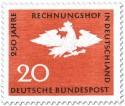 Stamp: Adler mit Krone und Zepter (250 Jahre Rechnungshof)