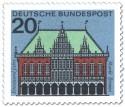 Stamp: Bremen Rathaus, Markt