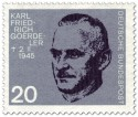 Stamp: Carl Friedrich Goerdeler