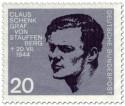 Stamp: Claus Schenk Graf von Stauffenberg