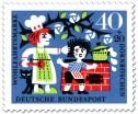 Stamp: Dornröschen: Koch gibt Küchenjungen eine Ohrfeige