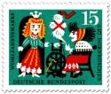 Stamp: Dornröschen am Spinnrad der Hexe