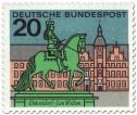 Stamp: Düsseldorf: Jan Wellem Reiterdenkmal