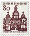 Stamp: Ellinger Tor, Weißenburg / Bayern