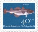 Stamp: Fisch: Kabeljau (Gadus Morhua)