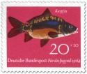 Stamp: Fisch: Karpfen (Cyprinus Carpio)