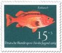Stamp: Fisch: Rotbarsch (Sebastes Marinus)