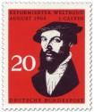 Stamp: Johannes Calvin (Tagung des Reformierten Weltbundes)