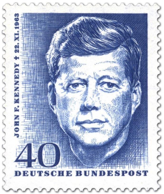 Stamp John F Kennedy 1 Todestag