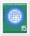 Stamp: Kernreaktor (Kernspaltung) von Otto Hahn u. Strassmann