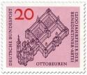 Stamp: Benediktiner-Abtei Ottobeuren (Kloster)
