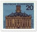Stamp: Saarbrücken Ludwigskirche