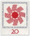 Stamp: Sonne zum Katholikentag 1964 (Wandel durch neues Denken)