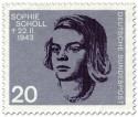 Stamp: Sophie Scholl