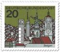 Stamp: Stuttgart Stadtansicht
