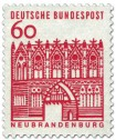 Stamp: Treptower Tor / Neubrandenburg