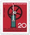 Stamp: Verbrennungsmotor von Nikolaus Otto (und Langen)