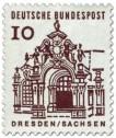 Stamp: Zwinger, Dresden / Sachsen