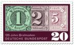 Stamp: 125 Jahre Briefmarken