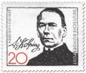Stamp: Adolph Kolping (katholischer Priester)