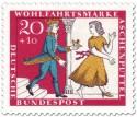 Stamp: Aschenputtel flieht vor dem Prinz mit dem Schuh