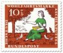 Stamp: Die Tauben helfen Aschenputtel