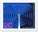 Stamp: Deutsche Funkausstellung, Stuttgart (Fernsehturm)