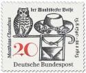 Stamp: Matthias Claudius (Der Wandsbecker Bothe)