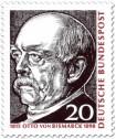 Stamp: Otto von Bismark (Reichskanzler)