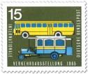 Stamp: Postbus (Oldtimer) und Omnibus