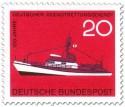 Stamp: Seenotrettungskreuzer Georg Breusing